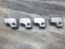 Set of 4 new Volvo Penta XDP L-Block Aluminum Anodes, 3861636