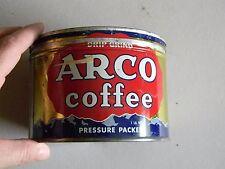 Arco Drip Grind Coffee Tin- One Pound - Original Lid