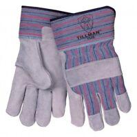Tillman 1500 - Economy Split Cowhide Work Gloves stripe LARGE