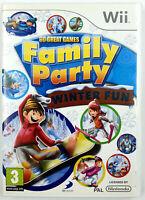 Family Party Winter Fun - Nintendo Wii / Wii U - Avec notice - PAL FR