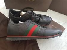 Gucci Leather Upper Sneakers Shoes for Men