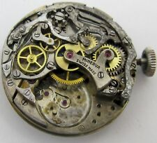 Minerva Chronograph Watch Movement 2 registers for parts