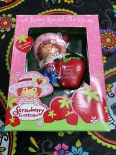 Strawberry Shortcake Ornament Have a Berry Merry Christmas 2003