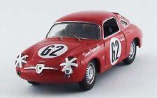 Fiat 750 Abarth 12H. Sebring 1959 Cussini/Cattini #62 Best 1:43 BE9617 Model MMC