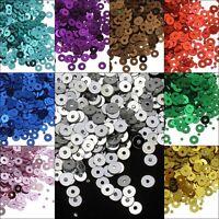 13200 Pailletten Glatt Perlen für Kleidung Schmuck 4m DIY (110g / 11 farben)