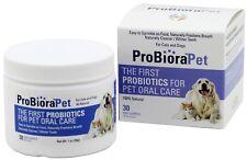 ProBioraPet (EvoraPet) Oral Care Probiotics 4 Dog Cat Fresh Breath White Teeth