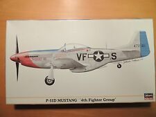 Hasegawa 1/48  P-51D MUSTANG `4th Fighter Group'  (09886)