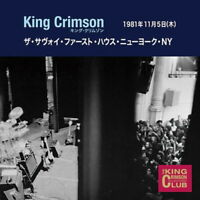KING CRIMSON-THE SAVOY FIRST HOUSE NEW YORK NY 05 NOVEMBER 1981-JAPAN 2 CD H51
