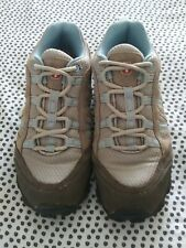 SWISSGEAR Womens Blue/Gray Hiking Trail Lace Up Trek Shoes Size 6.5