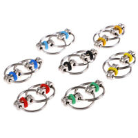 1pc Chain Toy Hand Spinner Key Ring  Toys Relieve Stress MoodIJ