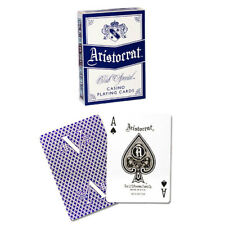 Aristocrat V Deck - Blue - Playing Cards - Poker Sized - Magic Tricks - New