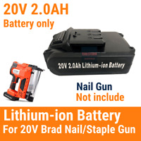 20V Battery Lithium Ion Rechargeable Fit UNIMAC Nailer Nail Gun CLS500 CLS400