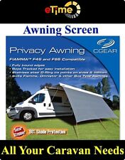 CGEAR Privacy Awning Drop 6ft Width 13ft Grey-CGE1813F Camping Caravans