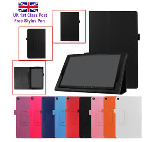 FLIP Smart PU Leather Stand Cover Case For Amazon Kindle Fire HD 7 8 10 Tablet