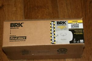 BRK First Alert CO400 Carbon Monoxide Detector Battery Operated 6-Pack