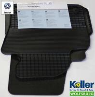Volkswagen Gummimatten Plus 4er Satz Golf Sportsvan Linkslenker