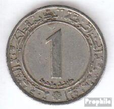 Algerien KM-Nr. : 112 1983 vorzüglich Kupfer-Nickel 1983 1 Dinar Unabhängigkeit