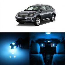 21 x Ice Blue LED Interior Light Kit For 2010 - 2015 Lexus RX350 RX450h + TOOL