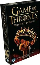 HBO Game of Thrones: WESTEROS INTRIGUE Card Game 2-6 Players Family