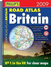 Philip's Road Atlas Britain: 2009 by Octopus Publishing Group (Spiral bound, 200