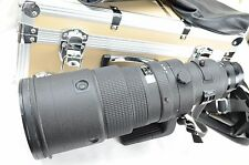 Nikon AF-I NIKKOR 500mm f/4 D ed, like new