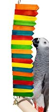 1638 Picket Fence Bird Toy cages toys parrot natural conure cockatiel amazon