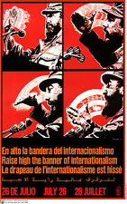 Political cuban POSTER.Fidel Castro Speech.Cuba.am24.Revolution Art Design