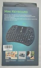 Mini QWERTY Keyboard Keypad MG-A08 2.4GHz Wireless TouchPad Mouse Combo New