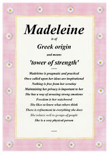 Baby Name Meaning Scroll