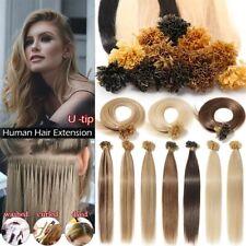 16-26Inch U Nail Tip Fusion Keratin Remy Hair Extensions Human Hair 50/100S