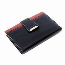 ladies wallet leather credit card id slot color zipper coin