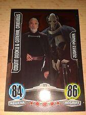 Force Attax Star Wars Serie Movie 1 Zusatz-Power Nr.223 Dooku & Grie Sammelkarte