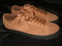 Men's Nike SB Blazer Zoom Low Light British Tan Black New Skateboard Skate Shoes