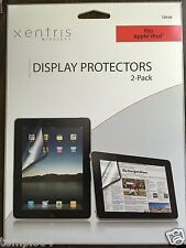Xentris Wireless Display Protectors  2-Pack fits apple ipads.  Lot of 5