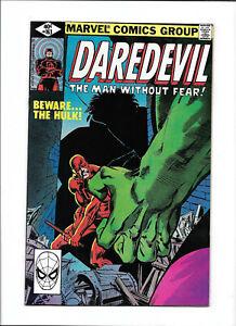 """DAREDEVIL #163 [1980 VF+] """"BEWARE...THE HULK!"""""""