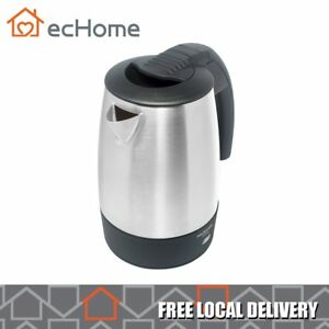 iNNOWARE 0.5L Travel Stainless Steel Kettle 1000W Water Jug Dual Voltage