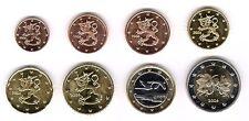 Finlandia 2006-Juego De 8 Monedas De Euro (unc)