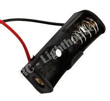 1 Pcs 23A / A23 Battery ( 12V ) Clip Holder Box Case Black 1 pc