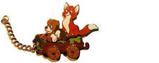 TRAIN SERIES FOX & HOUND 2004 Disney Land PARIS LE 1200 DLRP DLP PIN