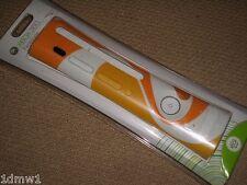 MICROSOFT XBOX 360 Console Ufficiale la piastra frontale Fascia in arancione bianco Nuovo di zecca!