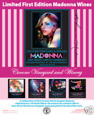 """Limited Edition Madonna Collector's Wine Poster 18""""x22"""""""