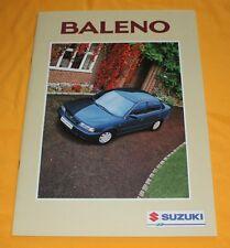 Suzuki Baleno 1995 (CH) Prospekt Brochure Catalogue Depliant