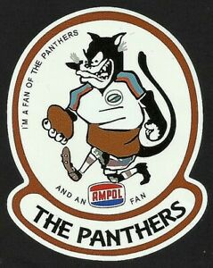 I'M A FAN OF THE PANTHERS & AMPOL Vinyl Decal Sticker PENRITH nrl rugby league