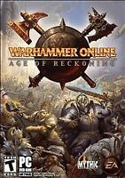 Warhammer Online: Age of Reckoning (PC, 2008) Brand New