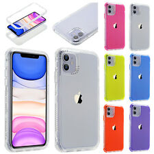 For Apple iPhone 11/ 11 Pro/11 Pro Max Shockproof Hybrid Bumper Phone Case Cover