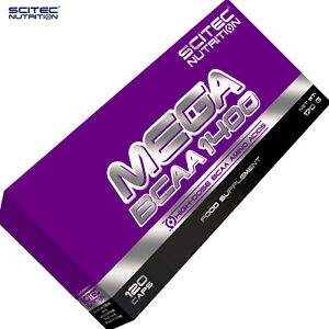 MEGA BCAA PREMIUM FOOD SUPPLEMENTS - Whey Protein Amino Acids - Anabolic Pills