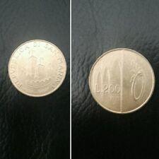 San Marino moneta 200 lire del 1993