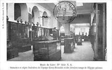 CPA EGYPTE MUSEE DU CAIRESTATUETTES ET OBJETS FUNERAIRES (dos non divisé)