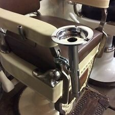 Antique Barber Chair Ash Tray For Koken Paidar Koch : old barber chairs - Cheerinfomania.Com