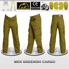 Men Motorbike Cargo Trousers Pants Reinforced with DuPont™ Kevlar® fiber